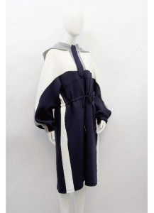 AW20-JIN-8249/ Indigo Ivoire Flanelle  Dress