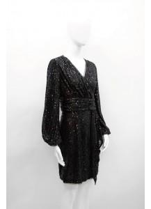 AW20-NRW-8005/ Jet Noir  Dress