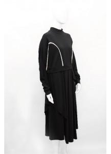 AW20-HS-L0216/ Noir Blanc Dress