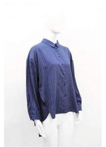 AW20-IB-20164/ Bleu Marine Blanc Shirt