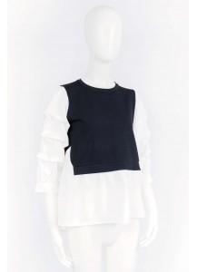 SS21-AY-310/ Noir Blanc Knitwear