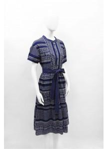 SS21-JIN-8891/ BLUE DRESS